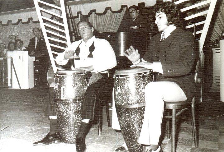 Miguelito Valdez and Oscar Salas 1971