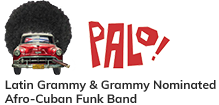 PALO! – Miami-based Afro-Cuban Funk Band Mobile Logo